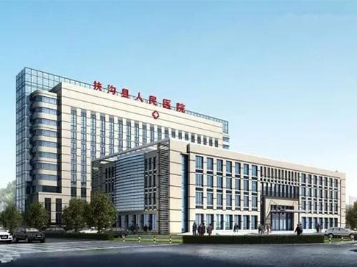 扶沟县人民医院综合楼