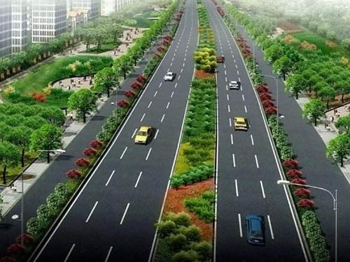 中牟绿博文化产业园区广惠街道路改造工程