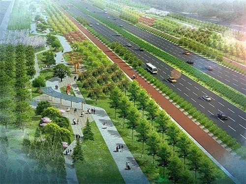 郑州西四环绿化